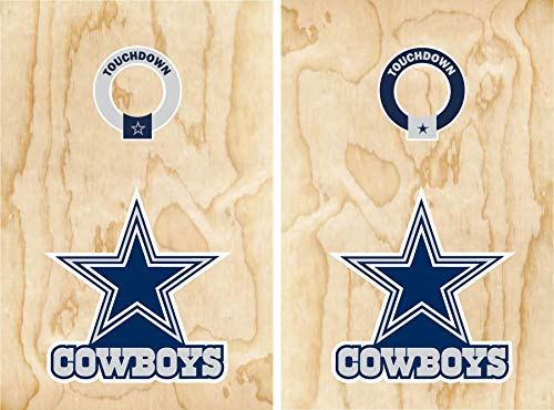 Set of 17' Cowboys stickers for Cornhole Wall Car Decal Dallas Football