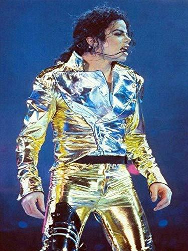 Carsilers 5d DIY Diamant malerei Michael Jackson 3D Diamant mosaik voller Platz/runde Bohrer Diamant Stickerei Dekoration,60x80cm
