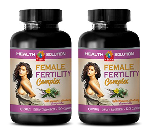 Women Fertility Booster - Female Fertility Complex 1310 Mg - Dietary Supplement - folic Acid Best Seller - 2 Bottles 240 Capsules
