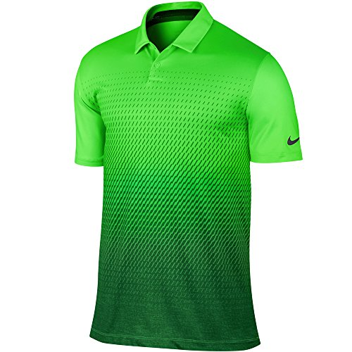 NIKE Hombre Camiseta, Green Strike/Gorge Green, X-Large