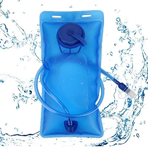 Hahepo Bolsa de hidratación de 2 L, reutilizable, plegable, portátil, para camping, escalada, picnic, al aire libre