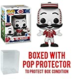Funko Sports Mascots Cincinnati Reds, Mr. Redlegs Action Figure (Bundled with Box Protector to Protect Display Box)