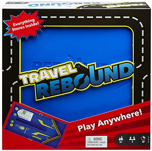 Mattel Games Rebound juego de mesa versión viaje (Mattel GKF42)