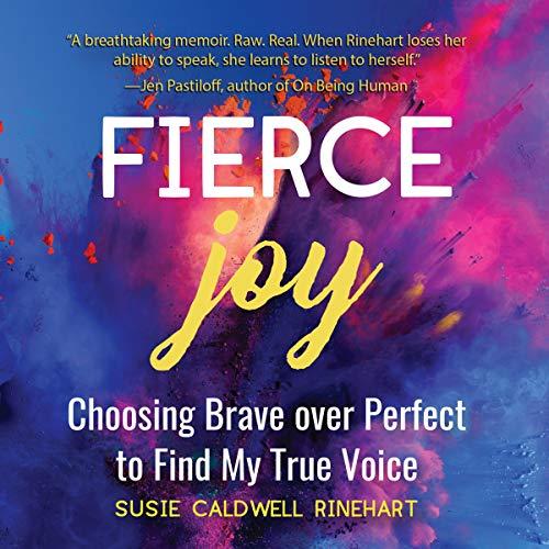 Fierce Joy audiobook cover art