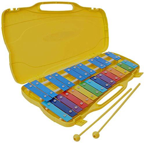 Xilofono - carrillon 25 teclas colores CONCERTO CAR25S cromático con estuche