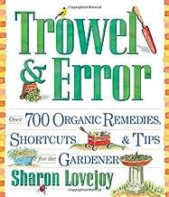 Best trowel and error book Reviews