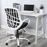 HOMY CASA Modern Fabric Computer Home Office Task...