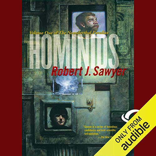 Hominids audiobook cover art