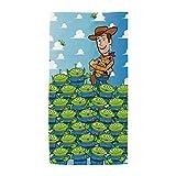 ARDITEX WD12704 Toalla de Microfibra de 70x140cm de Disney-Pixar-Toy Story