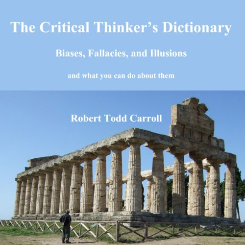 The Critical Thinker's Dictionary audiobook cover art