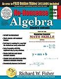 No-Nonsense Algebra, Bilingual Edition English-Spanish (Spanish Edition)