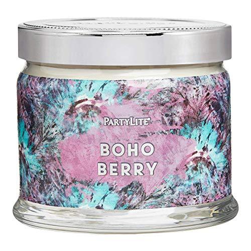 3 Wick Candle Jar: Bohemian Flower