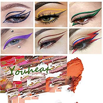 Eye shadow template Eyeliner Stencil Pads - For The Perfect Winged Tip Look Reusable Easy to Clean & Flexible Cruelty Free & Vegan