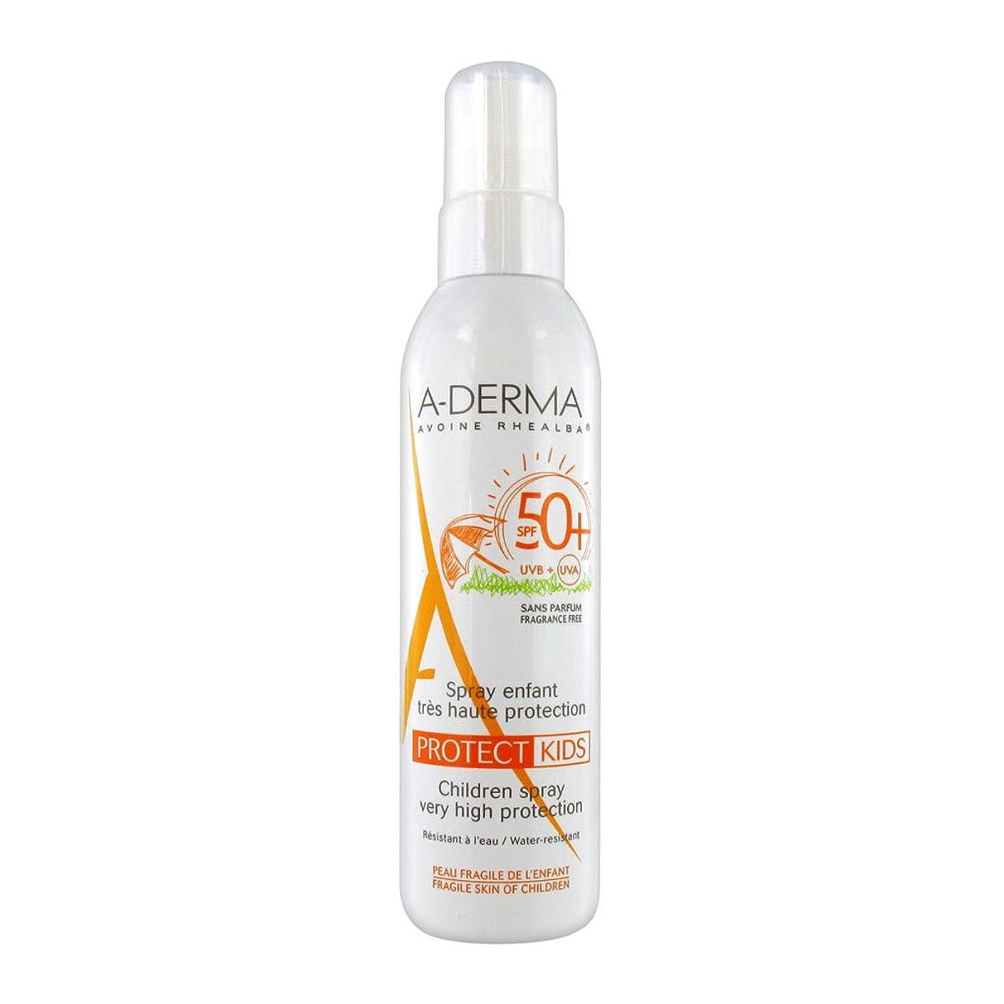 条件付き光沢のある召集するA-derma Protect Kids Spray Spf50+ 200ml [並行輸入品]