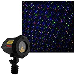 top 10 outdoor laser lights Firefly LED MALL RGB moving laser Christmas light, for outdoor garden, RF remote control and …