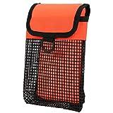 SALUTUYA Bolsa de Almacenamiento de Buceo BG-984 Scuba Resistente al Desgaste Durable, para Exteriores, para Buceo(Fluorescent Orange)