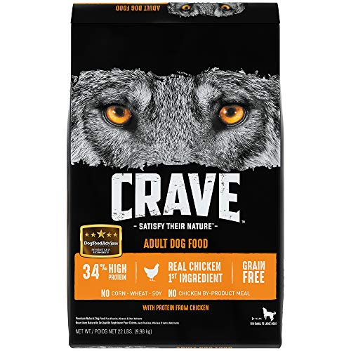 CRAVE Grain Free with Protein from Chicken...