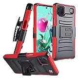 CELZEN - for LG K92 5G (LM-K920) - Phone Case w/Belt Clip