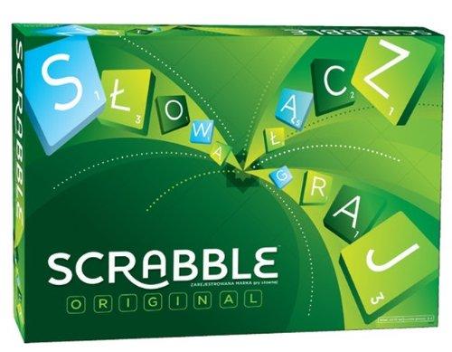 Mattel G-9616 - Scrabble Original (Polnisch)