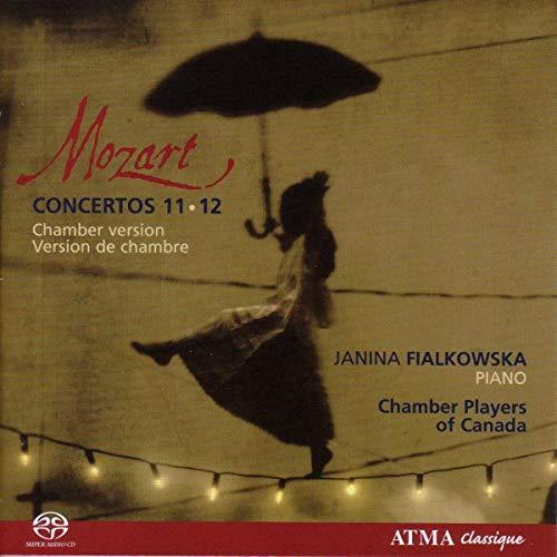 Mozart Klavierkonzerte 11+12 Sa-CD