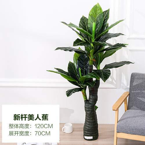MyWheelieBin Simulation Arbre Plante Plante Verte en Pot Faux Arbre Salon Grande Fleur Bonsaï Décoration De Sol New Canna