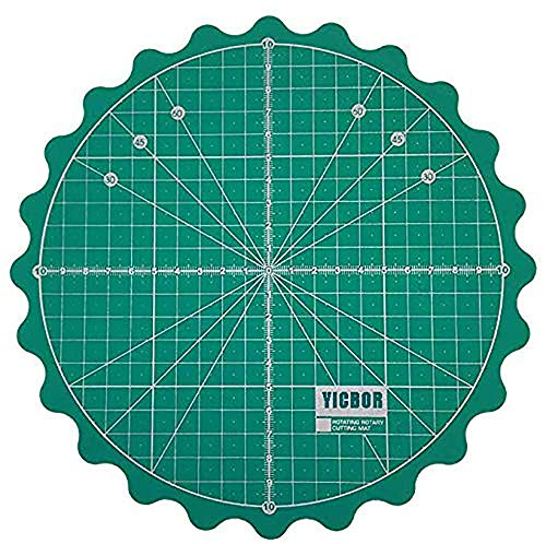 YICBOR Self Healing Rotary Cutting Mat for Office School Supplies Quilting, Paper Craft, Clay Craft, Art Craft(Green(Big Size))