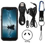 BOLORAMO Teléfono Móvil GUOPHONE U007, 5,5 Pulgadas De Pantalla Completa Grande Militar Al Aire Libre 2GB + 16GB 4G LTE Smartphone para Android 8.1, Procesador De Cuatro Núcleos MT6739(Negro)