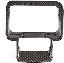 DYBANP Interior de Fibra de Carbono para Coche, Freno de Mano electrónico, Archivo P, Pegatinas Decorativas, para Land Rover Range Rover Evoque L551 2019 2020, Fibra de Carbono ABS