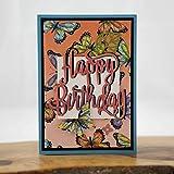 Geburtstagskarte Schmetterlinge 3D Grußkarte Karte zum Geburtstag Freude machen Geldgeschenk Handgemachte Karten Bastelstube