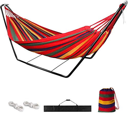 Hammock with Stand,Garden Outdoor Camping Hammock with Frame,Kid Indoor...