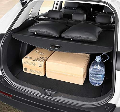 Cosilee Retractable Rear Trunk Parcel Shelf Security Shield Cargo Luggage Security Cover Shade Compatible for Toyota Rav4 2019 2020
