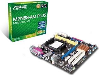 ASUS M2N68-AM Plus - Placa Base (AMD, UltraDMA 133/100, SATA, Socket AM2, uATX, Gigabit LAN)