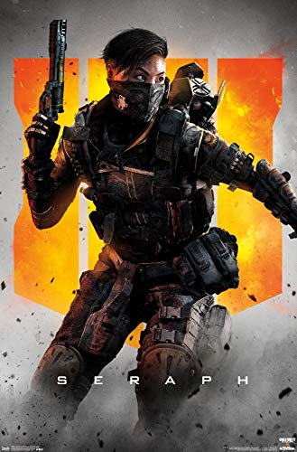 Trends International Call of Duty: Black Ops 4 - Seraph Key Art Wall Poster, 22.375' x 34', Premium Unframed Version