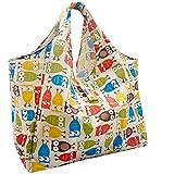GOKEI エコバッグ コンビニバッグ 買い物バッグ 折りたたみ 大容量 防水素材 軽量 買い物袋 レジカゴバッグ コンパクト 収納 水や汚れにも強い