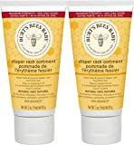 Burt's Bees Baby 100% Natural Origin Diaper Rash Ointment - 3 Ounce Tube - Pack of 2