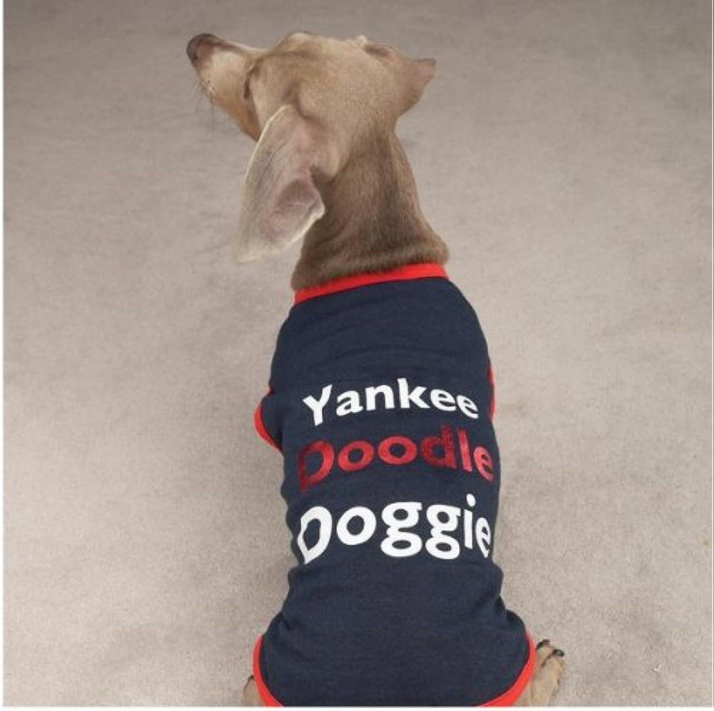 CC Yankee Doodle Doggie Tee XXsm Navy