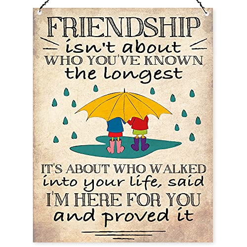Dorothy Spring Gift Friendship Isn't About Who You've Known The Longest...