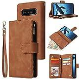 LBYZCASE Phone Case for Galaxy Note 8,Samsung Note 8 Wallet Case,Luxury Folio...