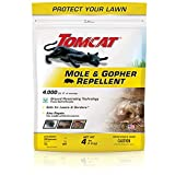 Tomcat BL34784 Mole & Gopher Repellent Granules, 4 lb
