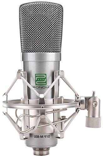 Micrófono Pronomic USB-M 910 Podcast de condensador, inclui