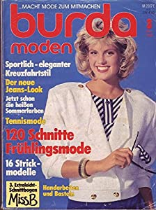 Burda Moden 3 März 1986 120 Schnitte Frühlingsmode