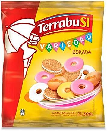 Terrabusi Galletitas / Assorted Cookies (Variedad Dorada, 300 gr.)