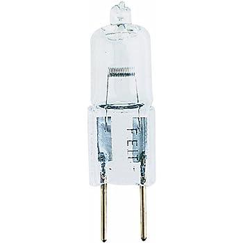 Feit Electric BPQ50T4//JCD 50-Watt T4 JCD Halogen Bulb with Bi-Pin Base Clear