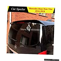ABSプラスチック未塗装外装リアスポイラーテールトランクブーツ翼装飾用メルセデスベ