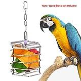 KinTor Käfig für Papageien, Edelstahl, für Graupapageien, Amazonas, Kakadus, Eclectus und große Sitten, Large
