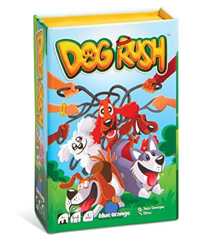 BLUE ORANGE Games Dog Rush, Brown