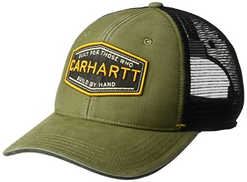 Carhartt Mens Silvermine Adjustable Cotton Mesh Baseball Cap