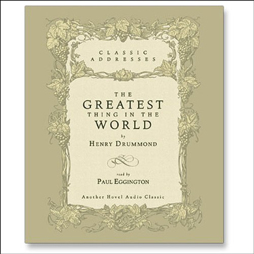 Greatest Thing in the World audiobook cover art