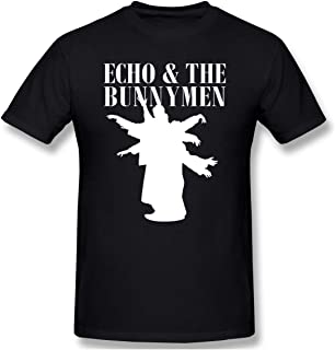 Carulest Men Echo & The Bunnymen Funny T-Shirts Black