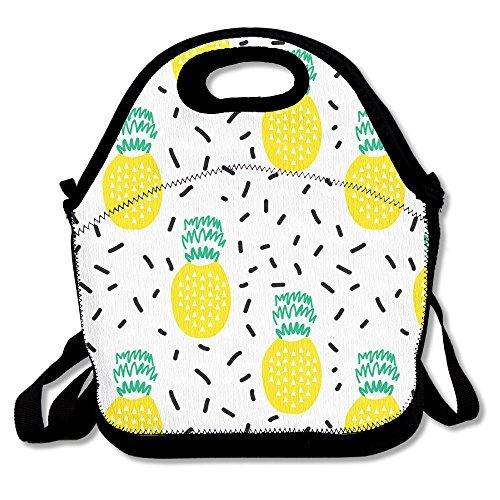 MAGGIE SALAS Cute Pineapple Leisure Bag Lunch Bags Bags Travelling Bag Picnic Bag Storage Bag Backpack For Children Diagonal Bag Handbag